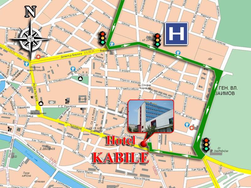 Hotel kabile Yambol