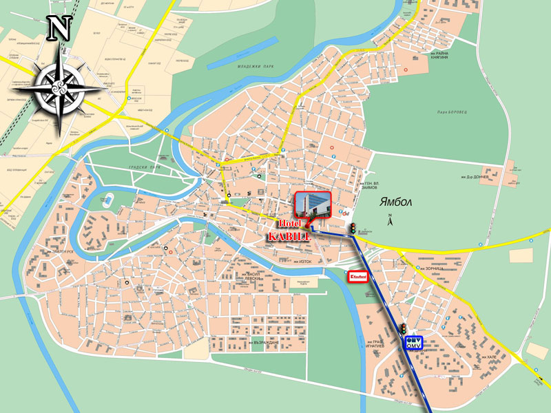 Karta 2019 Maps Yambol